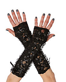 Gothic Lace Arm Warmers