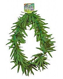 Hippie Weed Leaf Lei