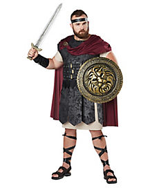 Adult Gladiator Plus Size Costume