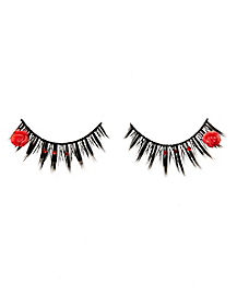 Day of the Dead Rose Eyelashes