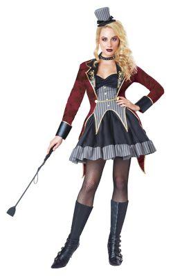 Steampunk Dresses | Women & Girl Costumes Adult Dark Ringmaster Costume by Spirit Halloween $59.99 AT vintagedancer.com