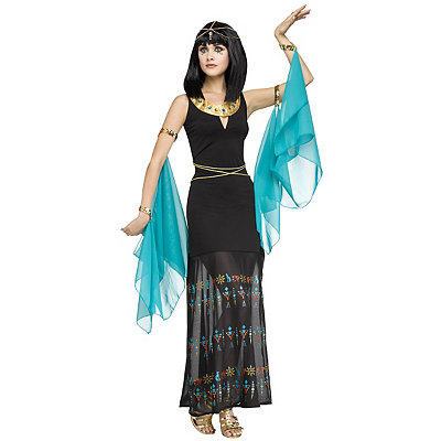 Roaring 20s Costumes- Cheap Flapper Dresses, Gangster Costumes Adult Egyptian Queen Costume $49.99 AT vintagedancer.com