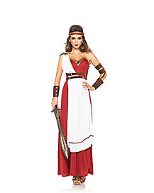 Adult Spartan Goddess Costume