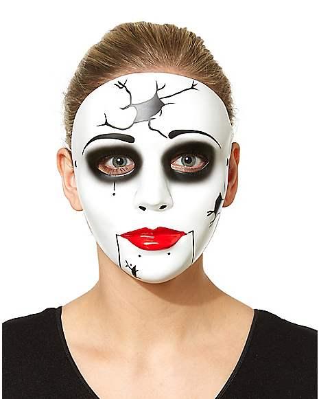 China Doll Mask Spirithalloween Com