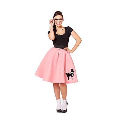 1950s Costumes Adult 50s Poodle Skirt $19.99 AT vintagedancer.com
