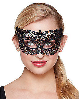 Lace Eye Half Mask