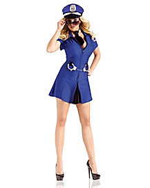 Adult Busting Babe Cop Costume