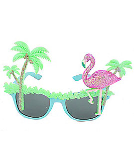 Luau Tropical Glasses