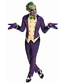 Adult Joker Costume - Batman Arkham  sc 1 st  Spirit Halloween : batman adult costumes  - Germanpascual.Com