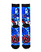 Captain America Crew Socks - Marvel