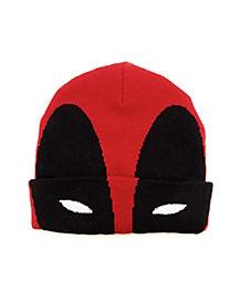 Deadpool Cuff Beanie Hat- Marvel