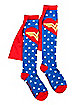 Caped Stars Wonder Woman Socks - DC Comics