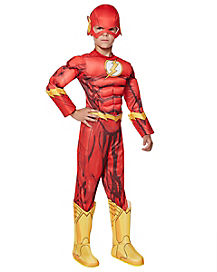 Kids Flash Costume Deluxe - DC Comics
