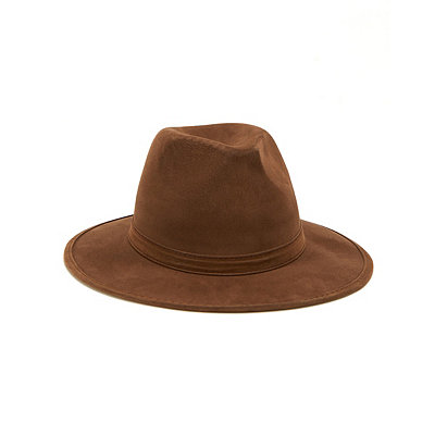 1940s Style Mens Clothing Horror Brown Fedora $12.99 AT vintagedancer.com