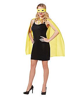 Yellow Superhero Costume Kit