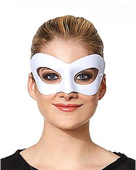 White Eye Half Mask