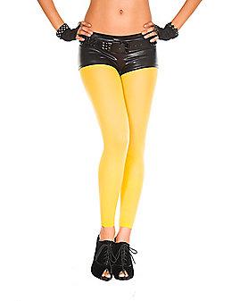 Yellow Footless Tights