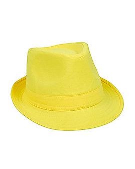 Yellow Fedora Hat