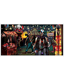 Creepy Carnival Banner - Decorations