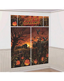 Field of Screams Wall Kit - Decorations