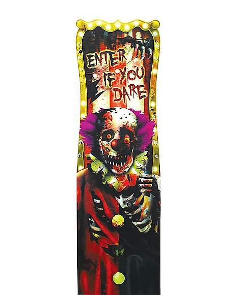 Spirit Halloween Wall Decor : Carnival clown decorations spirithalloween