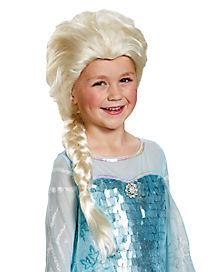 Kids Elsa Wig Deluxe - Frozen