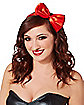 Princess Red Bow Headband