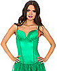 Adult Green Lace Corset
