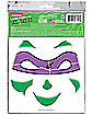TMNT Face Tattoo Decals- Teenage Mutant Ninja Turtles