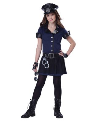 Kids Sassy Sergeant Costume  sc 1 st  Spirit Halloween : childs police officer costume  - Germanpascual.Com