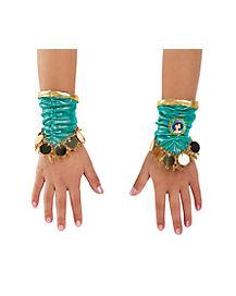Kids Jasmine Wrist Cuffs - Aladdin