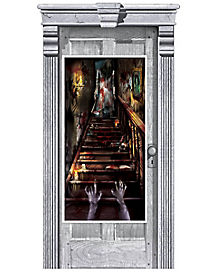 Haunted Mansion Door Cover - Decorations