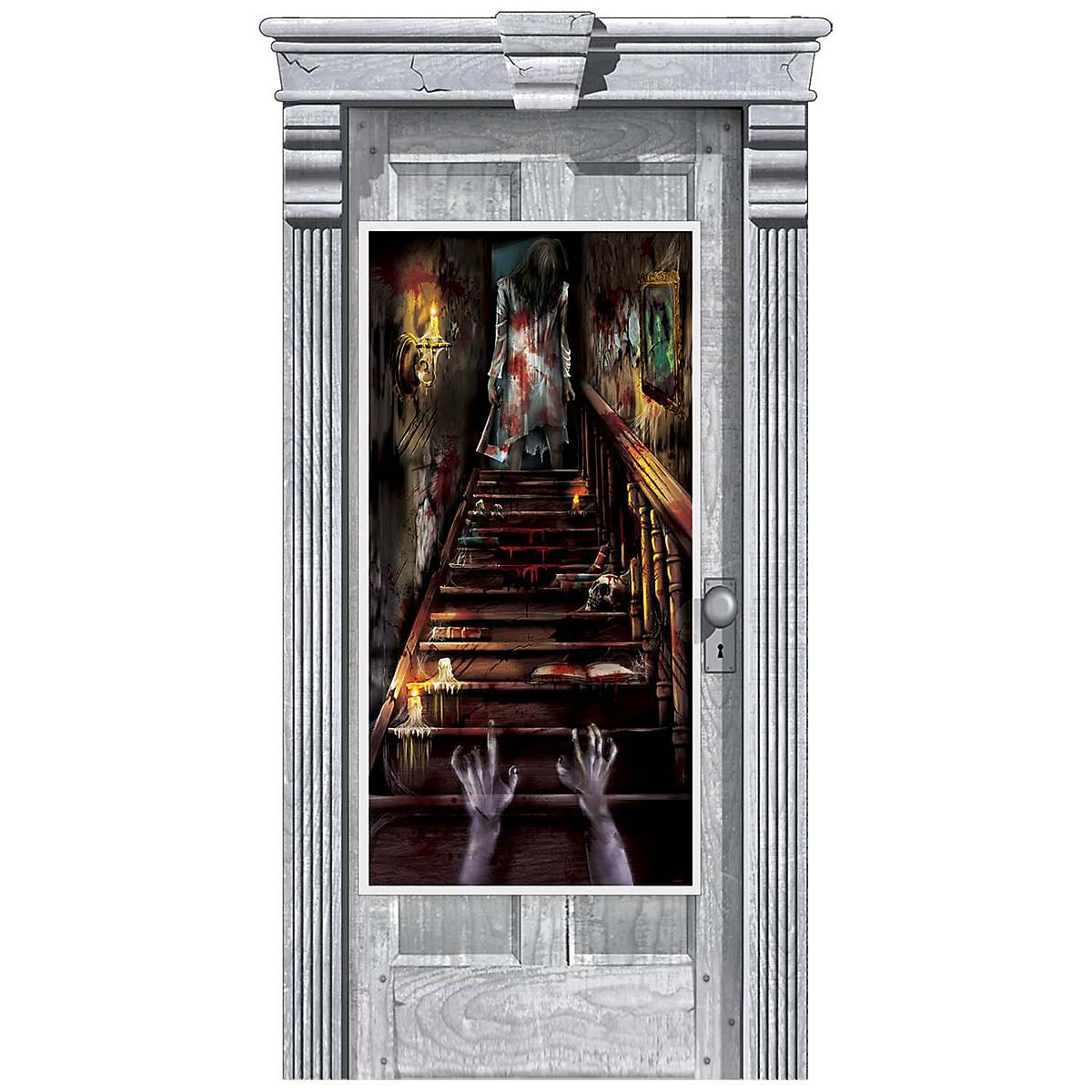 Haunted Mansion Door Cover