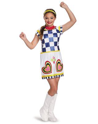 60s 70s Kids Costumes & Clothing Girls & Boys Kids Lela Costume Deluxe - Teen Beach 2 by Spirit Halloween $19.97 AT vintagedancer.com