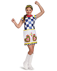 kids lela costume deluxe teen beach 2