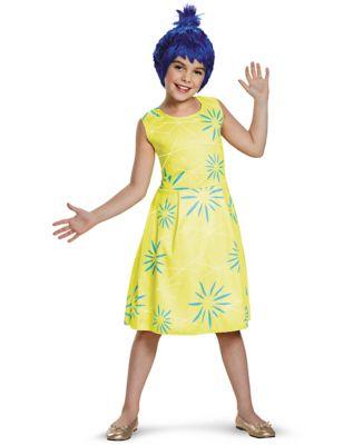 60s 70s Kids Costumes & Clothing Girls & Boys Kids Joy Costume - Inside Out by Spirit Halloween $21.99 AT vintagedancer.com