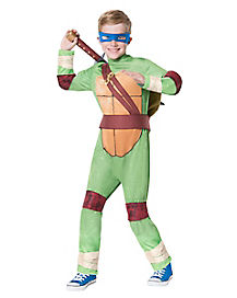 Kids Leonardo One Piece Costume - Teenage Mutant Ninja Turtles