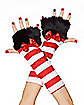 Cat in the Hat Arm Warmers - Dr. Seuss