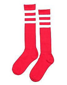 Kids Pink Sport Socks