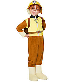 toddler rubble one piece costume paw patrol