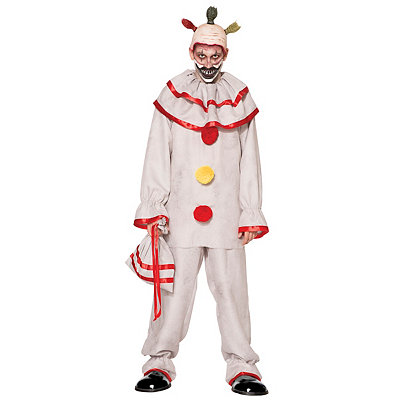 1930s Mens Fashion Guide- What Did Men Wear? Adult Twisty the Clown Costume - American Horror Story $59.99 AT vintagedancer.com