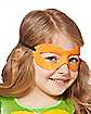 Kids Glitter Michelangelo Mask - Teenage Mutant Ninja Turtles