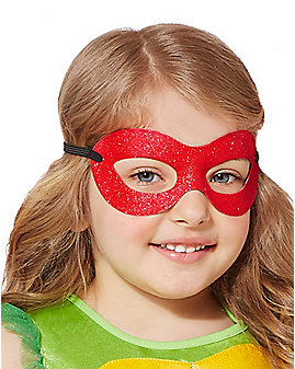 Glitter Raphael Mask - Teenage Mutant Ninja Turtles