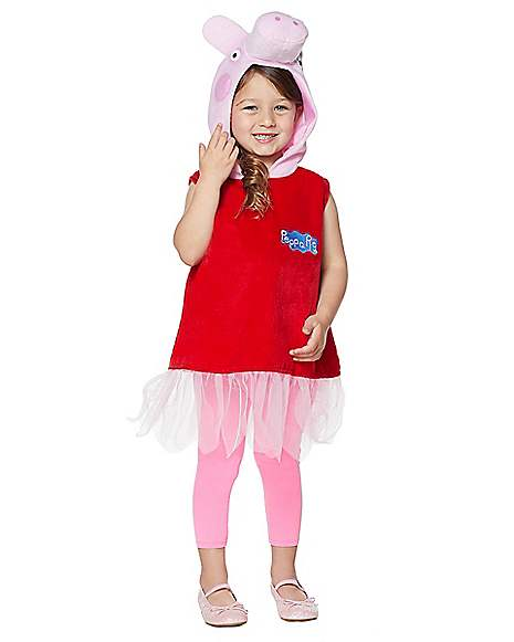 Toddler Peppa the Pig Costume - Peppa Pig  sc 1 st  Spirit Halloween & Toddler Peppa the Pig Costume - Peppa Pig - Spirithalloween.com