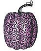 Tall Purple Lace Pumpkin