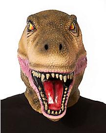 Brown Dinosaur Mask