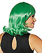 Green Page Boy Adult Wig