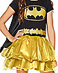 Kids Caped Batgirl Tutu Dress Costume - DC Comics