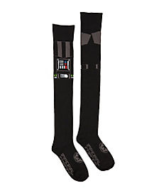 Darth Vader Over the Knee Socks - Star Wars