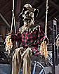 6 Ft Swinging Scarecrow Animatronics - Decorations